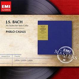 Les 6 suites pour violoncelle seul, CD
