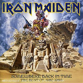 Somewhere back in time : the best of (1980-1989), CD
