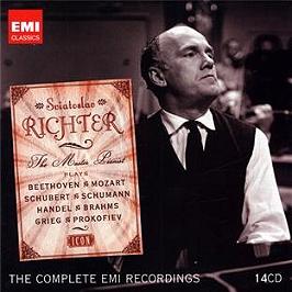 Sviatoslav Richter : the master pianist, CD + Box