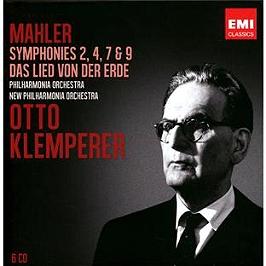 Symphonie n°2 - symphonie n°4 - symphonie n°7 - symphonie n°9 - le chant de la terre, CD + Box
