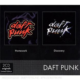Homework - discovery, edition limitée, CD