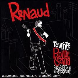 Tournée rouge sang (Paris Bercy + hexagone), CD