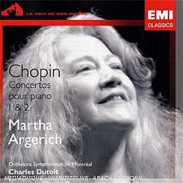 Concerto pour piano n°1 op.11 - concerto pour piano n°2 op.21, CD