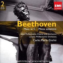 Missa solemnis, CD