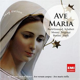 Musique sacrée : ave Maria, CD