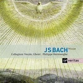Messes bwv233-235 - sanctus bwv238, CD