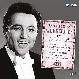 Collection icon : Fritz Wunderlich, CD