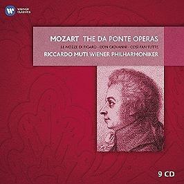 Les opéras Da Ponte, CD + Box