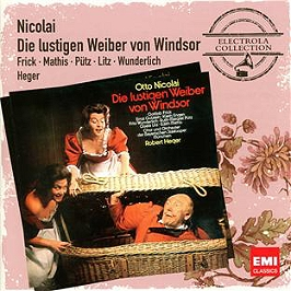 Les joyeuses commères de Windsor (die lustigen Weiber von Windsor), CD