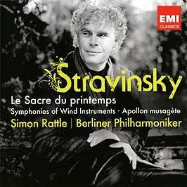 Le Sacre du printemps - symphonies d'instruments à vents - Apollon musagète, CD