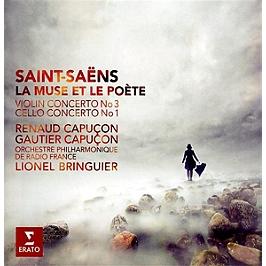 La muse et le poète - concerto pour violon n°3 - concerto pour violoncelle n°1, CD