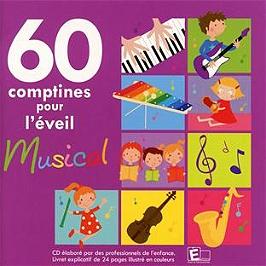 60 comptines pour l'éveil musical, CD