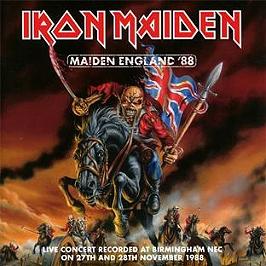 Maiden England, CD