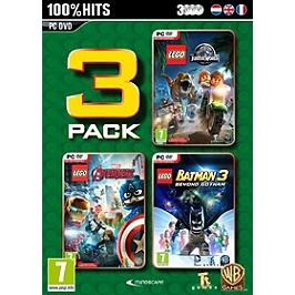 Lego box (Jurassic Wold, Marvel Avengers & Batman 3) (PC)