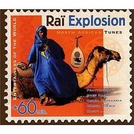 Raï explosion North African tunes, CD