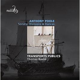 Sonata, divisions & dances, CD