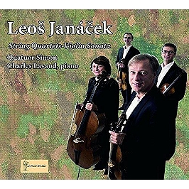String quartets, violin sonata, CD