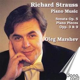 Piano music - Sonata op 5 - Piano pieces op 3 & 9, CD