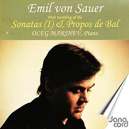 Sonatas et propos de bal, CD