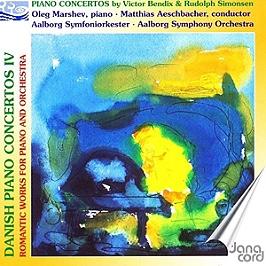 Concertos danois pour piano, vol.4, CD