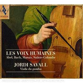 Les Voix Humaines. Bach, Marais, Sainte-Colombe, Telemann, CD Digipack