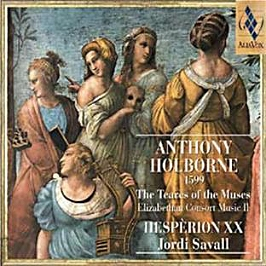 Holborne: The Tears of the Muses, CD