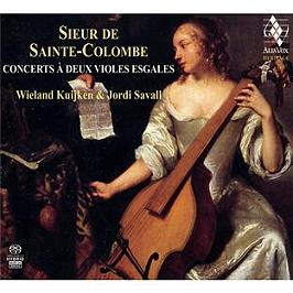 Sainte Colombe: Concerts à deux violes esgales. Concerts à deux violes esgales, CD Digipack