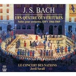 Bach : Quatre Suites d'Orchestre. Suites pour orchestre n° 1-4, SACD