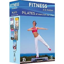 Coffret fitness à la maison, vol. 2 : pilates et exercices sur step, Dvd