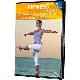 Fitness à la maison : les bases de la méthode Pilates ; cours de Pilates intensifs, Dvd