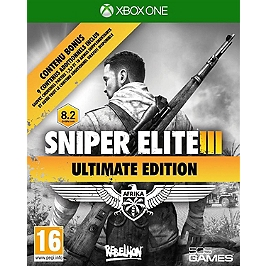 Sniper elite III: Afrika - ultimate edition (XBOXONE)