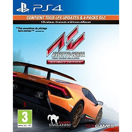 Assetto corsa - édition ultimate (PS4)