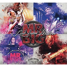 Live from Milan, Edition deluxe : 2 CD + Blu-Ray. Format digipack., CD + Blu-ray