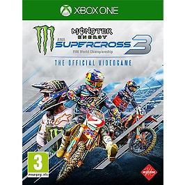 Monster energy supercross - the official videogame 3 (XBOXONE)