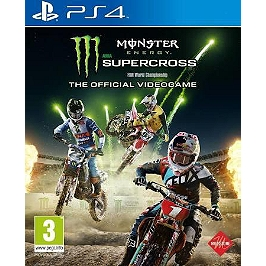 Monster Energy Supercross : the official video game (PS4)