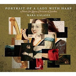 Portrait of a lady with harp, CD Digipack
