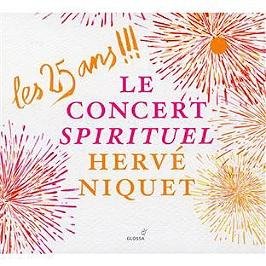 Les 25 ans !!! musique religieuse. demesure jardin secret. opéras. petits bijoux preferes, CD Digipack