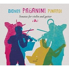 Sonatas for violin and guitar, CD