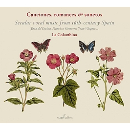 Canciones, romances & sonetos, CD