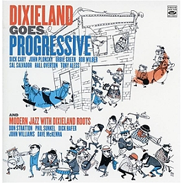 Dixieland goes progessive & modern jazz with dixieland roots, CD