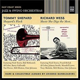 East Coast series jazz & swing orchestras - Shepard's flock / Music she digs the most, CD