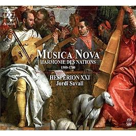 Musica nova, harmonie des nations, 1500-1700, Edition digipack et deluxe., SACD