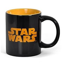 Mug céramique logo star wars (noir)