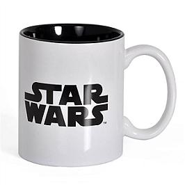 Mug céramique logo star wars (blanc)