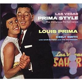 Las Vegas prima style, CD Digipack