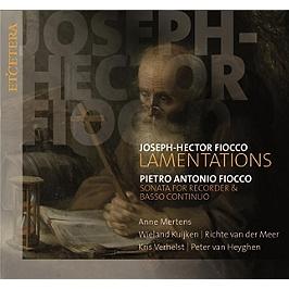 Lamentations / sonates pour flûte à bec et basse continue, CD
