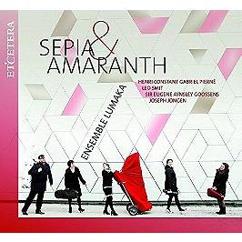 Sepia & amaranth, CD