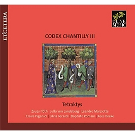 Codex chantilly /vol.3, CD
