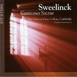 Cantiones sacrae, CD