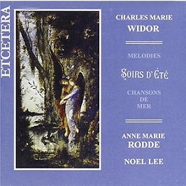 Mélodies - Soirs d'été - Chansons de mer, CD